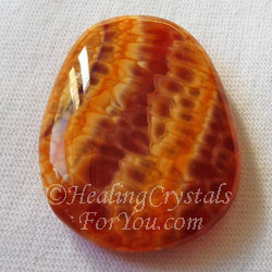 Crackled Fire Agate