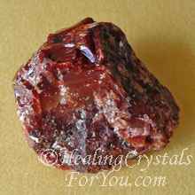 Dark Red Calcite
