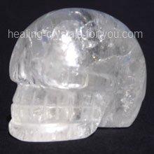 Clear Quartz Crystal Skull