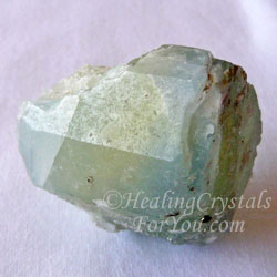 Yellow Blue Datolite