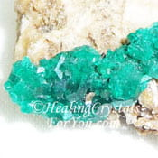 Dioptase on matrix
