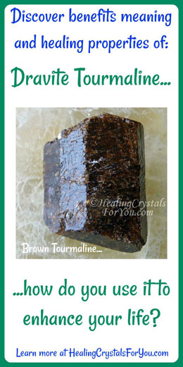 Dravite Brown Tourmaline