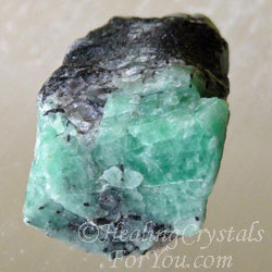Emerald Stones Emit The Green Ray Energy Of Abundant Love