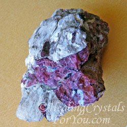 Eudialyte with White Agrellite