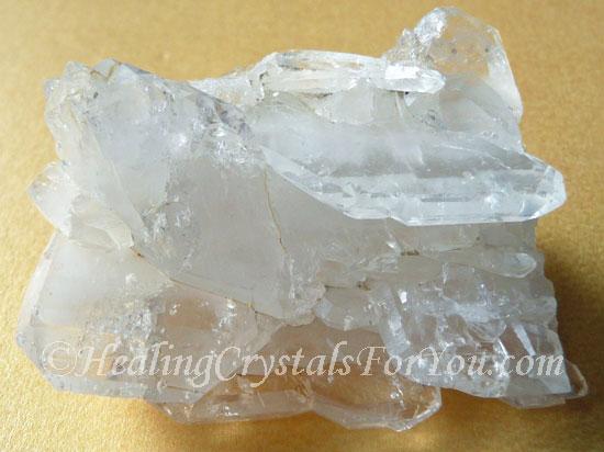 faden quartz cluster