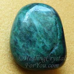 Fuchsite Tumblestone
