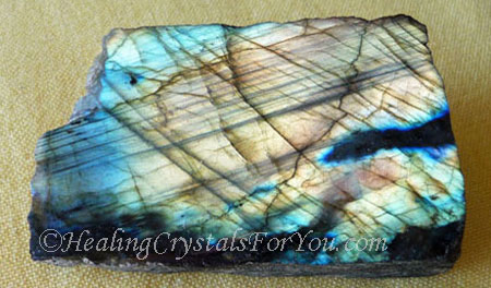 Gold Flash Labradorite