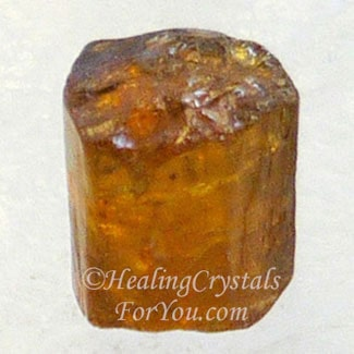 Golden Brown Tourmaline