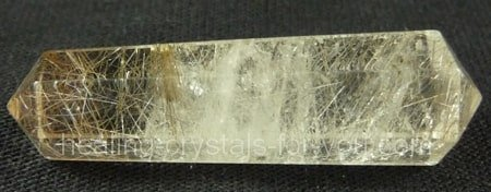 Golden Rutilated Quartz Wand