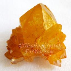 Golden Yellow Spirit Quartz