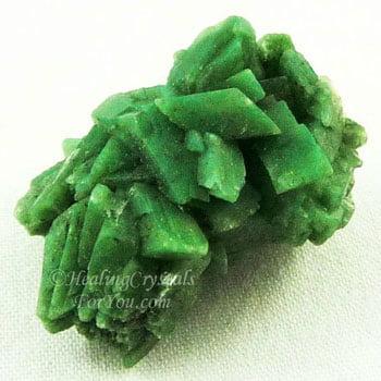 Green Heulandite