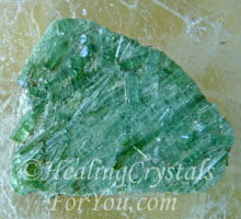 Green Tourmaline Promotes Joy Happiness And Compassion