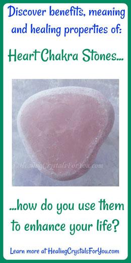 Heart Chakra Stones
