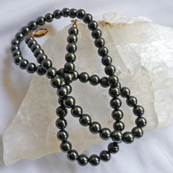 Magnetic Hematite Bead necklace