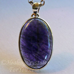 Purple Iolite