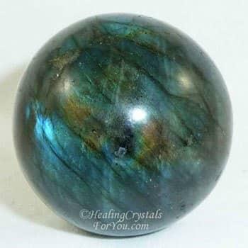 Labradorite Crystal Ball