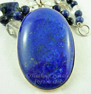 Lapis Lazuli Stone Pendant