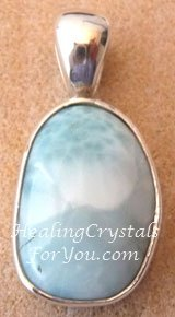 Larimar a great stress relief crystal