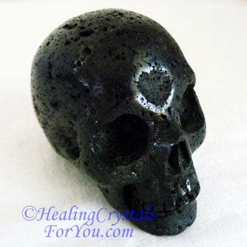 Lava Stone aka Basinite Skull