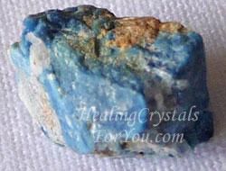 Blue Lazulite Stone