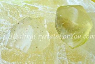 Libyan Desert Glass aka Libyan Gold Tektite