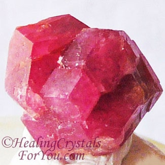 Light Red Garnet