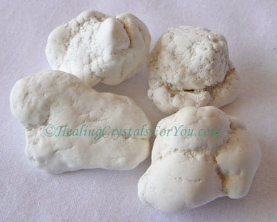 Magnesite stones for gridding