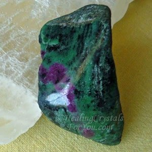 Anyolite or Ruby in Green Zoisite