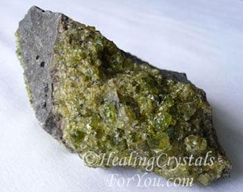 Peridot aka Olivine crystals