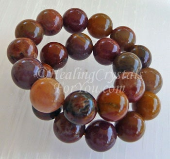 Petrified Wood Bracelet