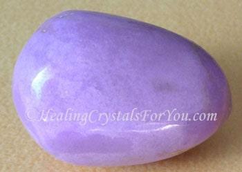 Orchid Pink Phosphosiderite Stone