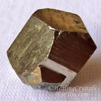 Iron Pyrite Cube