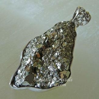 Peruvian Pyrite Pendant