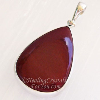Red Jasper Boosts Energy, Strength, Stamina & Grounding