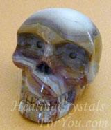 Rhyolite Crystal Skull