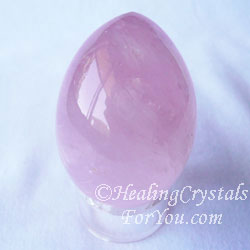 Lavender Rose Quartz Egg