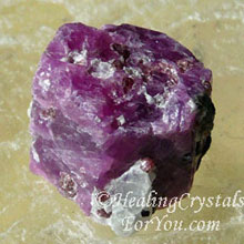 Natural Ruby Stone