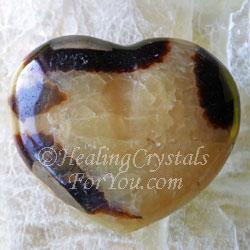 Septarian Heart