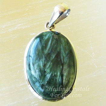Seraphinite Aids Contact With Angels Amp The Divine Feminine