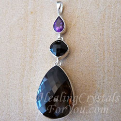 Smokey Quartz is a strong grounding stone