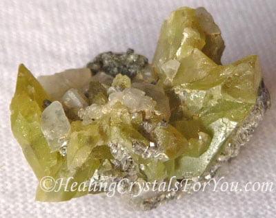 Sphene Crystal Cluster