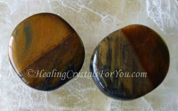 Tigers Eye Palmstones