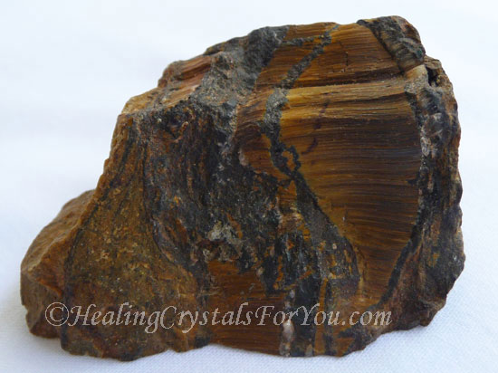Natural Rough Tiger Eye Stone