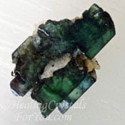 Translucent Vivianite
