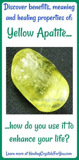 Yellow Apatite Meaning Amp Use Enhances Weight Loss Amp Self
