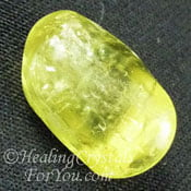 Golden Yellow Apatite
