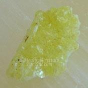Yellow Brucite